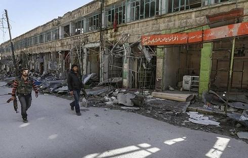 Quân đội Syria tiêu diệt hàng trăm phiến quân khủng bố cùng nhiều vũ khí - Ảnh 1