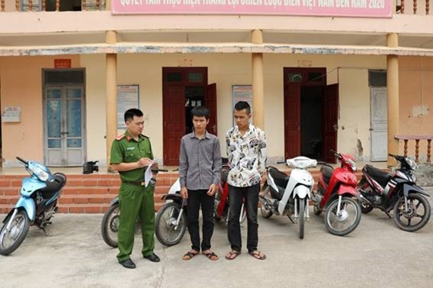 Điện Biên: Hai vị thành niên trộm cắp 11 chiếc xe máy để lấy tiền chơi game - Ảnh 1