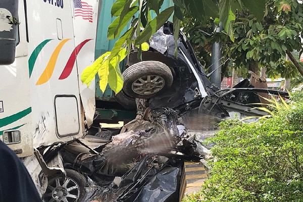 Vụ tai nạn khiến 5 người chết ở Tây Ninh: Đại tang cho cả gia đình 4 người - Ảnh 3