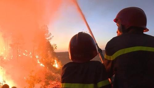 Hé lộ nguyên nhân hàng loạt vụ cháy rừng xảy ra cùng một ngày ở Huế - Ảnh 3