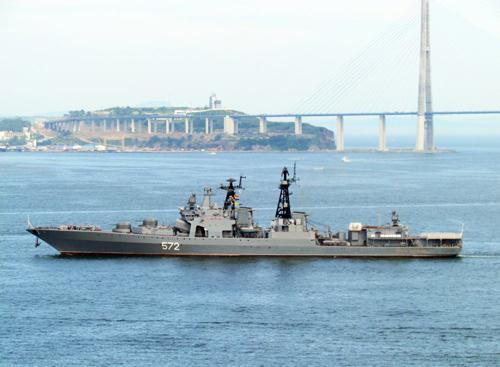 Moscow cáo buộc tuần dương hạm Mỹ cắt mặt tàu khu trục Nga ở biển Hoa Đông - Ảnh 2