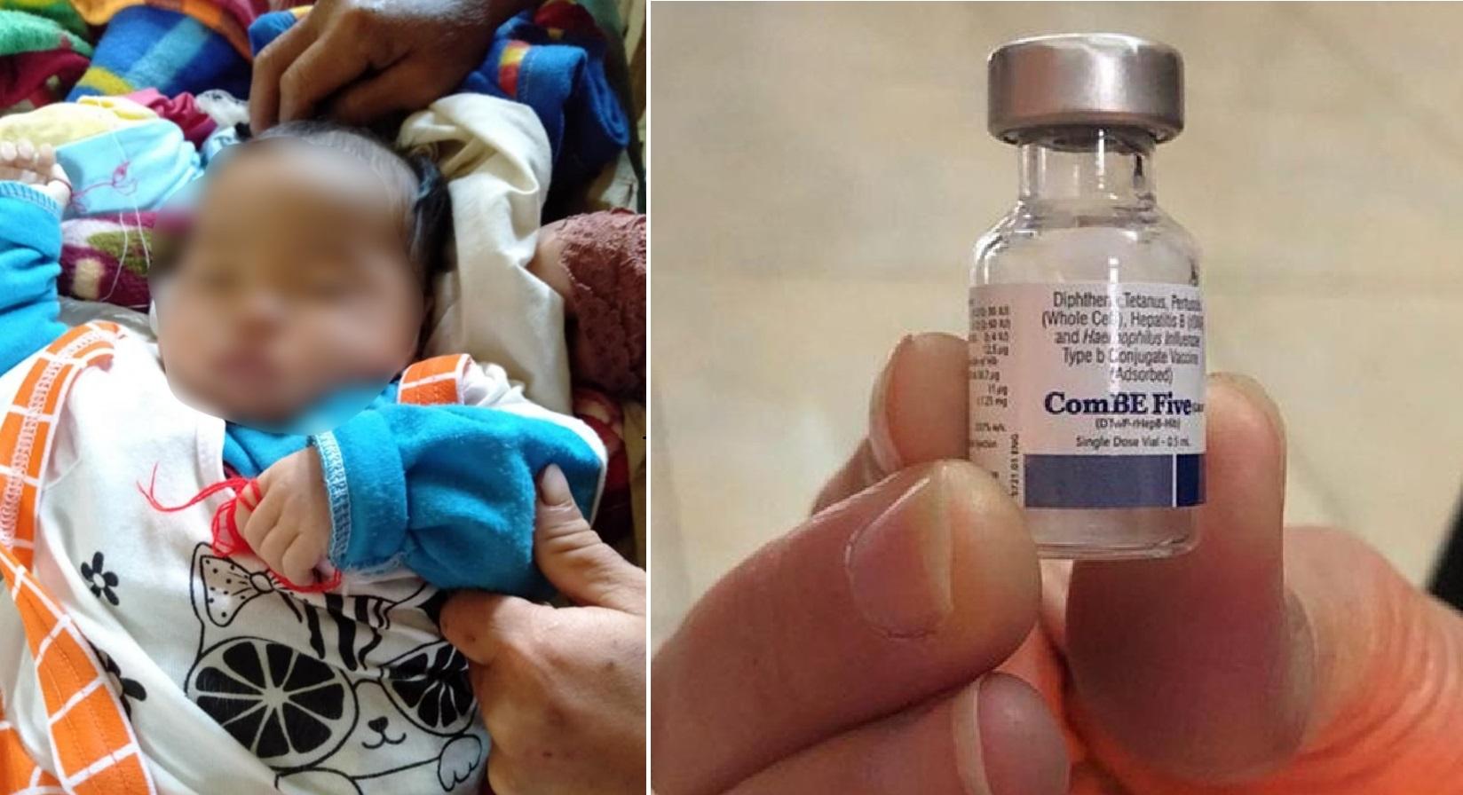 Nghệ An: Bé 9 tháng tuổi co giật tím tái rồi tử vong sau khi tiêm vắc-xin - Ảnh 1