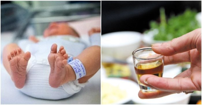 Vì sĩ diện, ông nội mớm rượu khiến cháu 1 tháng tuổi tử vong tức tưởi - Ảnh 1
