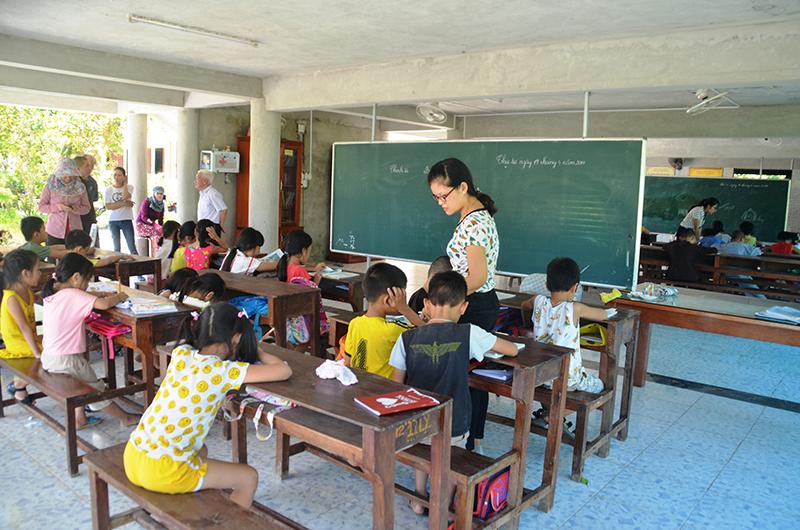 Ngôi chùa ở Quảng Trị mở lớp học hè miễn phí cho học sinh suốt 16 năm - Ảnh 1