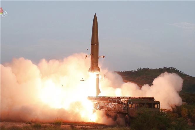 Tình báo Hàn Quốc: Bình Nhưỡng có thể tiếp tục phóng tên lửa trong tháng 8 - Ảnh 1