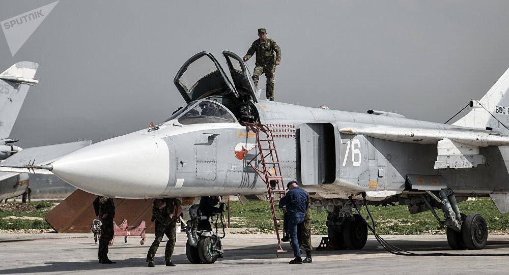Cố tiếp cận căn cứ không quân của Nga, 6 máy bay không người lái của phiến quân bị bắn hạ - Ảnh 1