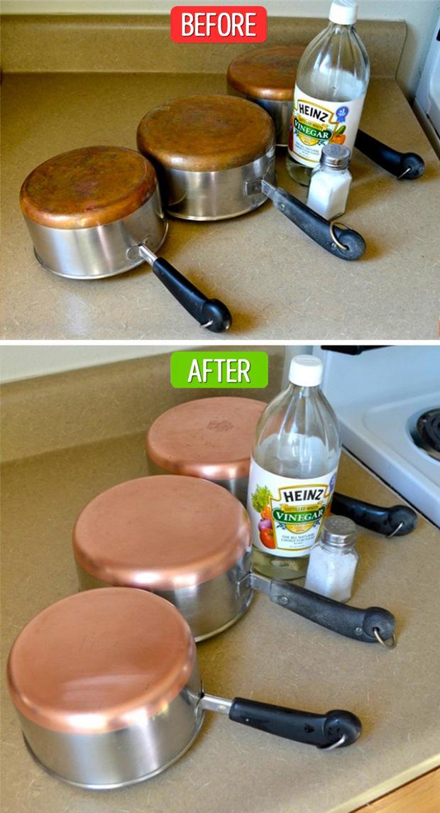 Mẹo làm sạch các dụng cụ nhà bếp không cần chất tẩy rửa - Ảnh 6