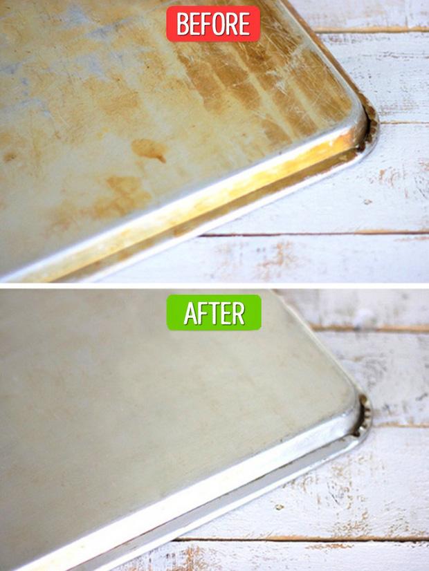 Mẹo làm sạch các dụng cụ nhà bếp không cần chất tẩy rửa - Ảnh 4
