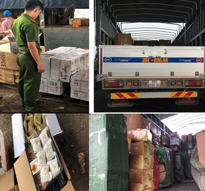 Phát hiện hàng nghìn sản phẩm bánh kẹo không rõ nguồn gốc nghi nhập lậu về Việt Nam - Ảnh 1