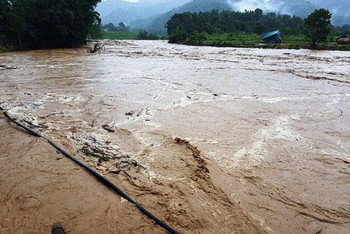 14 người bị lũ cuốn mất tích do ảnh hưởng mưa bão số 3 ở Thanh Hóa - Ảnh 1