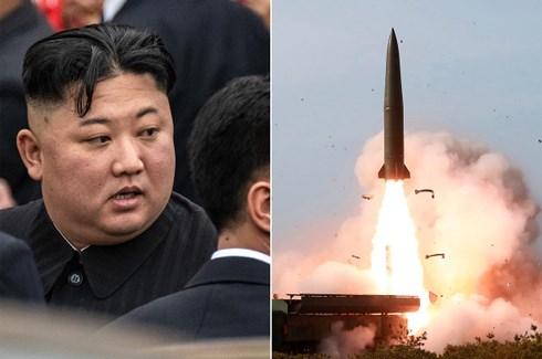 """Mỹ """"thờ ơ"""" trước việc Triều Tiên vừa cho phóng 2 tên lửa tầm ngắn - Ảnh 1"""