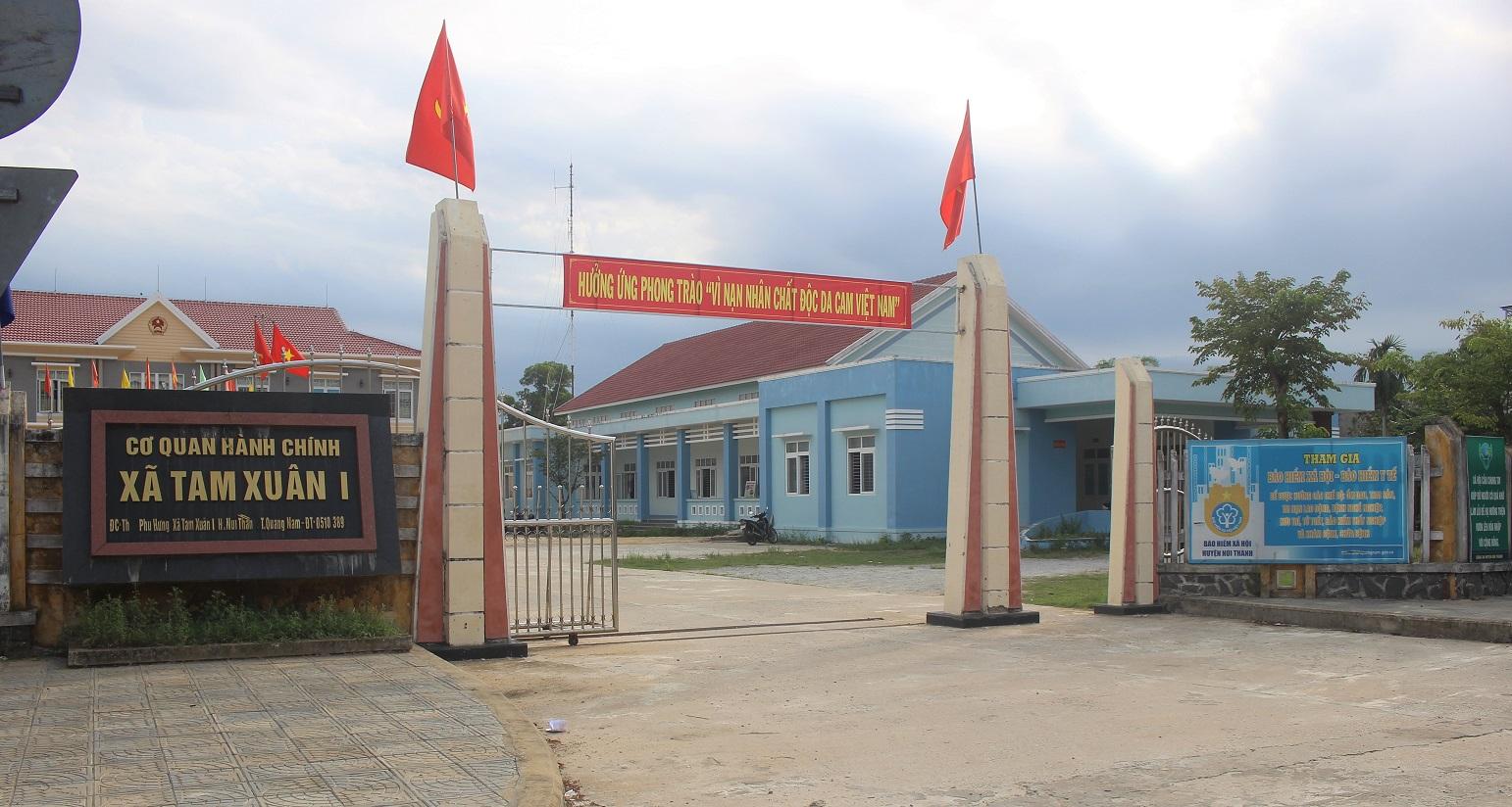 Quảng Nam: Điều tra vụ trộm phá cửa phòng lãnh đạo xã lấy tài sản - Ảnh 1