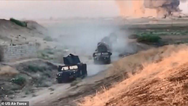 Iraq: 25 thành viên IS bị tiêu diệt trong cuộc không kích bằng hơn 36 tấn bom - Ảnh 3