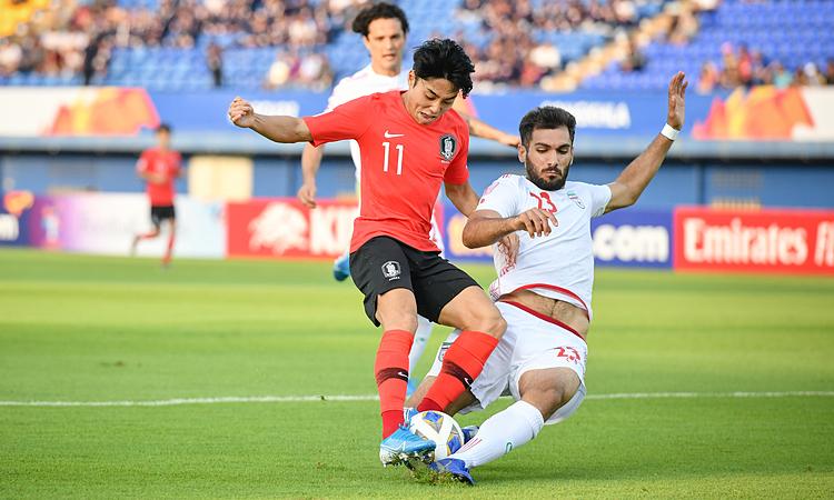 Đánh bại Iran, Hàn Quốc thành đội đầu tiên vào tứ kết U23 châu Á - Ảnh 1