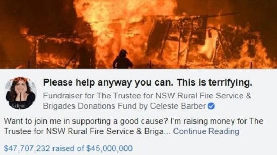 Giới nhà giàu Australia 'tung' hàng trăm triệu đô vào thảm họa cháy rừng - Ảnh 1