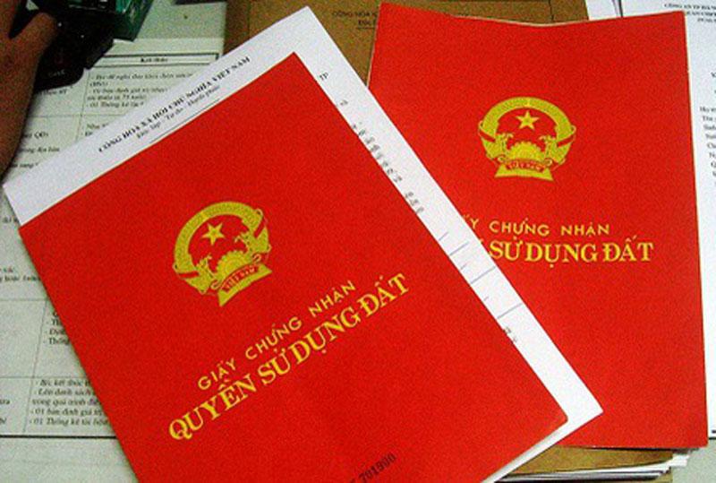 Phát hiện đường dây chuyên làm sổ đỏ giả để vay vốn trả nợ tại Bình Định - Ảnh 1