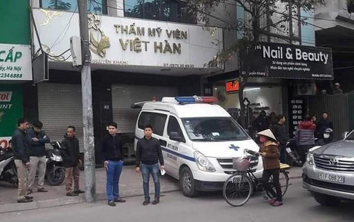 Thêm một nạn nhân bị hoại tử da sau khi hút mỡ tại Thẩm mỹ viện Việt Hàn - Ảnh 2