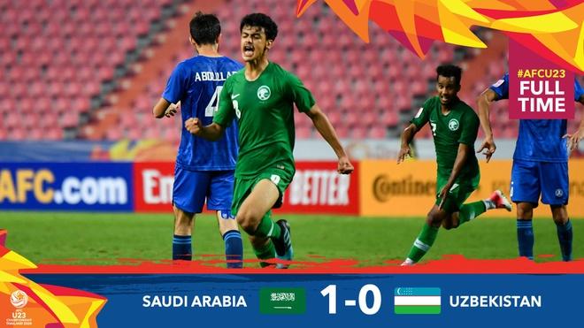 Đánh bại Uzbekistan, U23 Saudi Arabia chính thức giành vé dự Olympic 2020 - Ảnh 1