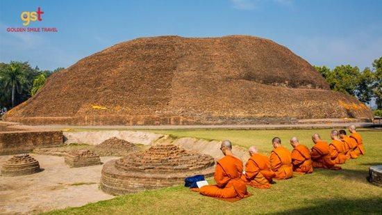 Hành hương Phật giáo – Dây an lạc, Hạt từ tâm - Ảnh 1