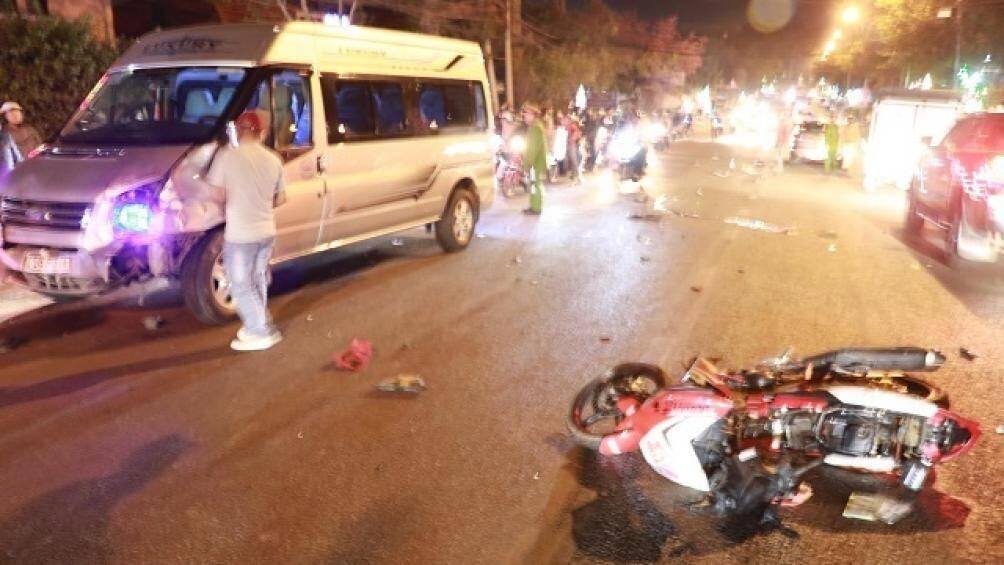 Đà Lạt: Tai nạn liên hoàn, 1 người tử vong tại chỗ - Ảnh 1