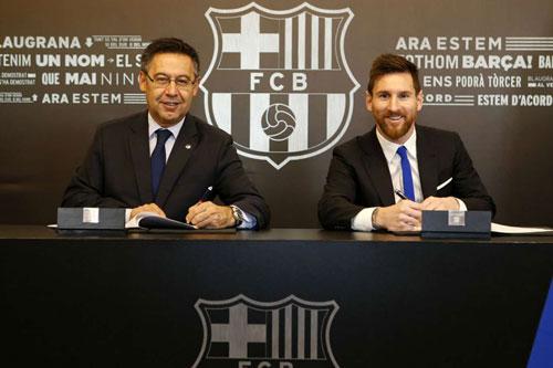 Barca phủ nhận cáo buộc thuê công ty truyền thông nói xấu Messi - Ảnh 1
