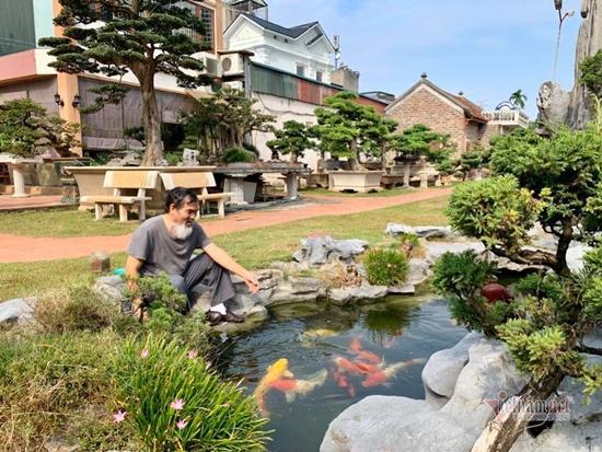 Chiêm ngưỡng vườn cảnh triệu đô của đại gia Hà Thành từng bán nhà để mua cây - Ảnh 2