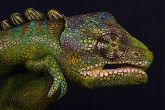Những bức ảnh động vật đẹp được tạo bởi vật liệu gây sửng sốt cho người xem - Ảnh 5