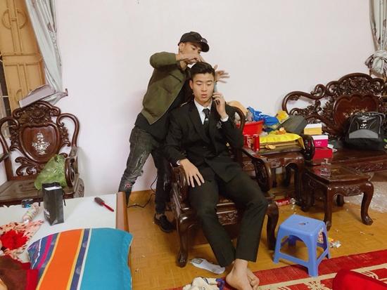 Những hình ảnh ấn tượng trong lễ cưới Duy Mạnh - Quỳnh Anh - Ảnh 1