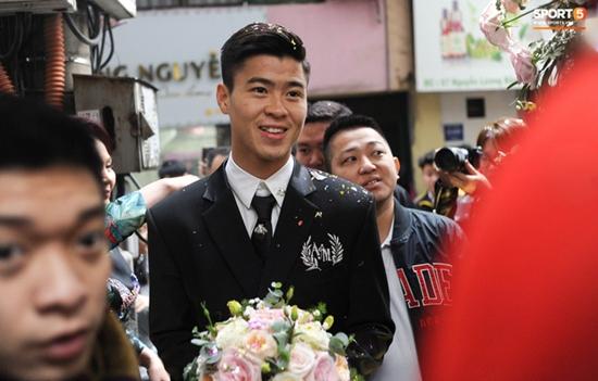 Những hình ảnh ấn tượng trong lễ cưới Duy Mạnh - Quỳnh Anh - Ảnh 5