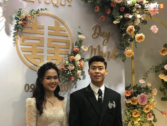 Những hình ảnh ấn tượng trong lễ cưới Duy Mạnh - Quỳnh Anh - Ảnh 6