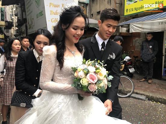 Những hình ảnh ấn tượng trong lễ cưới Duy Mạnh - Quỳnh Anh - Ảnh 9