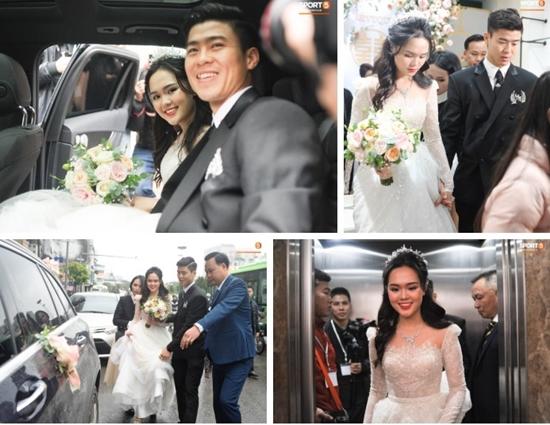 Những hình ảnh ấn tượng trong lễ cưới Duy Mạnh - Quỳnh Anh - Ảnh 10