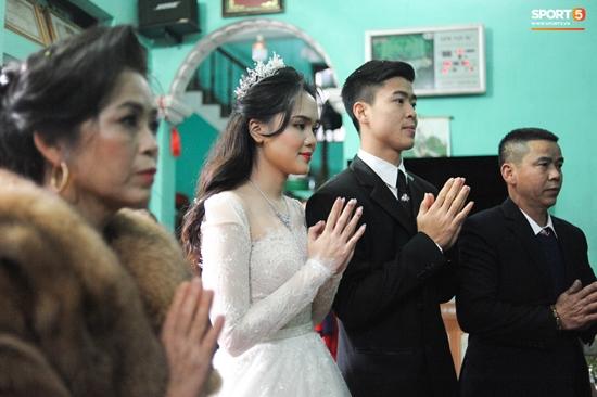 Những hình ảnh ấn tượng trong lễ cưới Duy Mạnh - Quỳnh Anh - Ảnh 8