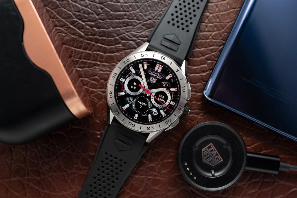 Tin tức công nghệ mới nóng nhất hôm nay 16/3: TAG Heuer ra mắt smartwatch siêu sang thế hệ 3 giá 1.800 USD - Ảnh 1