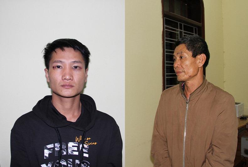 Hưng Yên: Bắt giữ hai bố con đâm chết người tại trụ sở UBND xã - Ảnh 1