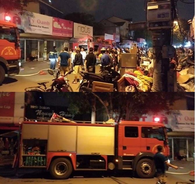 Hà Tĩnh: Tiệm giặt là bốc cháy trong đêm, hàng xóm hốt hoảng tháo chạy - Ảnh 2