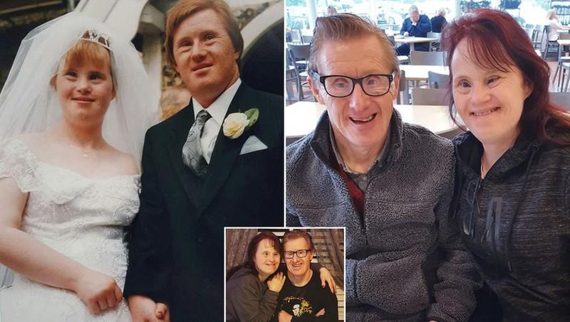 Cặp vợ chồng bệnh Down kỷ niệm 25 năm ngày cưới: Không có ký ức cho đến khi gặp anh - Ảnh 1