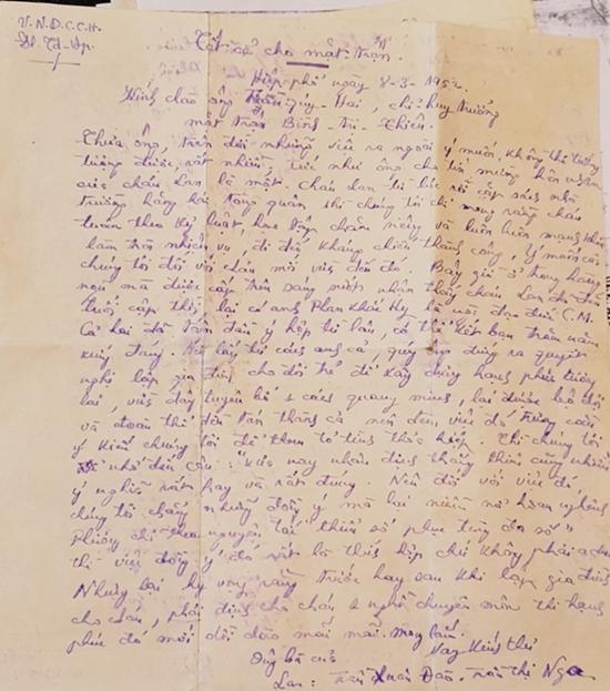 Chuyện tình thời chiến: 500 bức thư tình vượt lửa đạn chiến trường của tướng Phan Khắc Hy - Ảnh 3