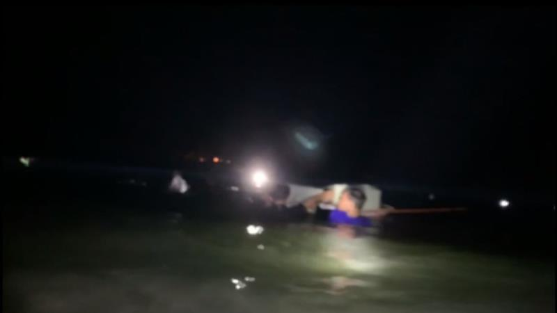 Kiên Giang: Cả trăm kẻ buôn lậu tấn công lực lượng biên phòng - Ảnh 1
