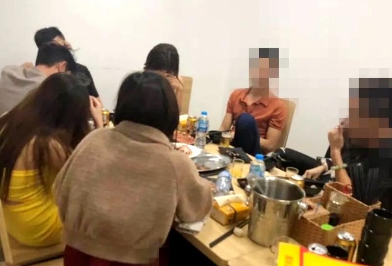 Quảng Ninh: Phát hiện nhóm người tụ tập liên hoan tại nhà hàng - Ảnh 1