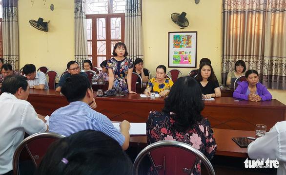 Hải Phòng: Xem xét trách nhiệm vụ 'học sinh lớp 1 bị phê bình vì đi học sớm' - Ảnh 1