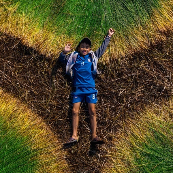 Vẻ đẹp siêu thực của cánh đồng cói Việt Nam - Ảnh 8