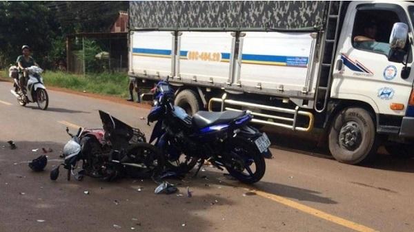 Bình Phước: 4 người tử vong trong ngày do tai nạn xe máy - Ảnh 1