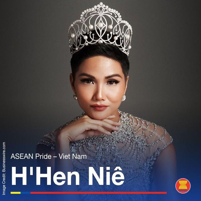 Hoa hậu H'hen Niê được vinh danh là 'Niềm tự hào của Đông Nam Á' - Ảnh 1