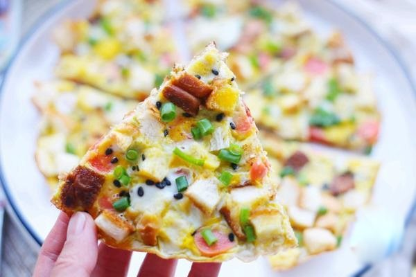Hô biến 2 lát sandwich thừa thành bánh pizza thơm ngon chỉ trong chớp mắt - Ảnh 4