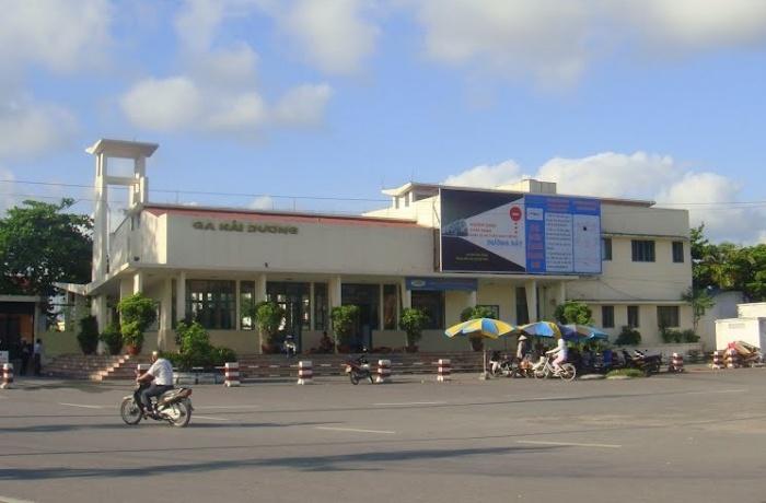 Phòng dịch Covid-19: Đường sắt tạm dừng đón, trả khách tại ga Hải Dương - Ảnh 1