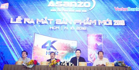 Asanzo chính thức ra mắt tivi màn hình cong 4k SUNHD giá hấp dẫn - Ảnh 2
