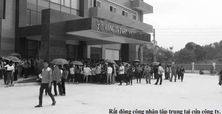 Nữ công nhân bị quản lý đánh nhập viện, hàng nghìn đồng nghiệp lên tiếng - Ảnh 1