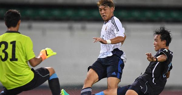Dễ dàng đánh bại Tajikistan, Nhật Bản vào bán kết gặp U19 Việt Nam - Ảnh 1