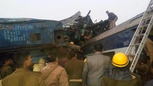 Kinh hoàng tai nạn tàu hỏa ở Ấn Độ, hơn 60 người tử vong - Ảnh 3